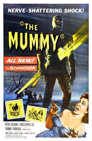La momia de Terence Fisher (1959)