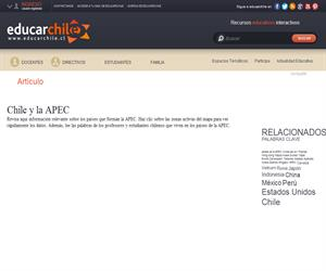 Chile y la APEC (Educarchile)