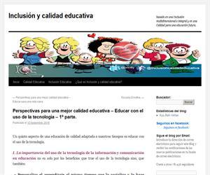 Perspectivas para una mejor calidad educativa – Educar con el uso de la tecnología – 1º parte.