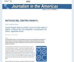 Centro Knight lanza su primer curso en línea masivo y abierto, Introducción a la Infografía y Visualización de Datos