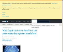 ¿Será el conocimiento como servicio el nuevo campo de batalla de la guerra de los sistemas operativos? - Por Nova Spivack