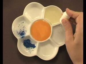"Pinta con yema de huevo, ""al temple"" (EducaThyssen)"