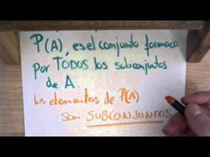 30 Teoria de Conjuntos || Conjunto de Partes P(A)