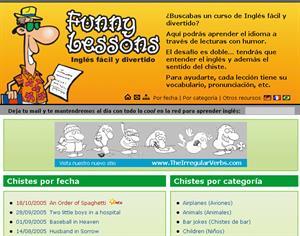 Funny Lessons, aprende inglés en forma fácil y divertida