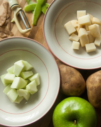 Apples and Potatoes