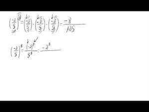 Potencia de números racionales