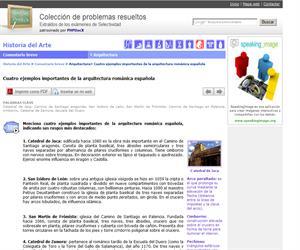 Cuatro ejemplos importantes de la arquitectura románica española. (Selectividad.tv)