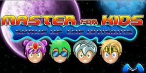 Master for Kids Space of the Divisions. Videojuego de rol con divisiones en inglés