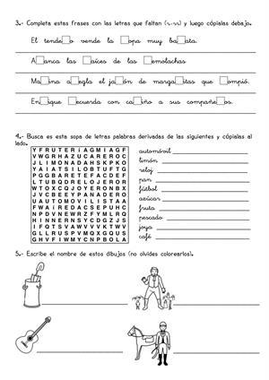 26 Fichas de repaso de Lengua y Matemáticas (3º de Primaria)