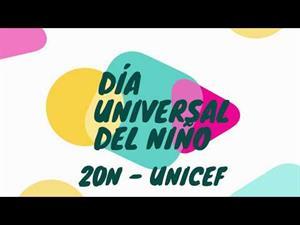 Día Universal del Niño. ¡Alza la voz!