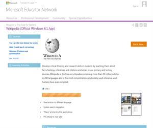Wikipedia como recurso educativo