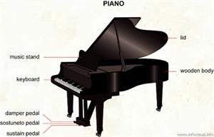 Piano (Diccionario visual)
