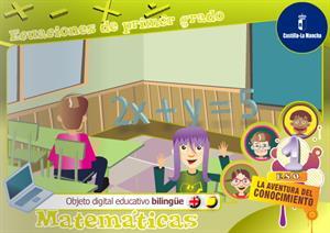 Ecuaciones de primer grado. Unidad bilingüe (Cuadernia)