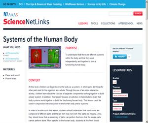 Systems of the Human Body - Science NetLinks