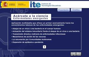 Acércate a la ciencia: enfermedades emergentes (recursostic.educacion.es)