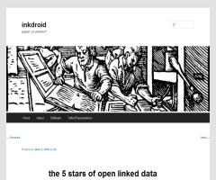 The 5 stars of open linked data