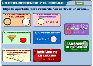 Figuras planas. Circunferencia y círculo