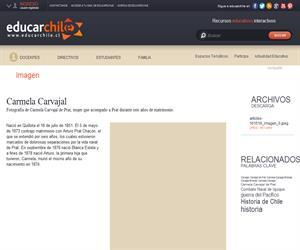 Carmela Carvajal (Educarchile)