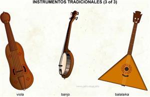 Tradicionales (Diccionario visual)