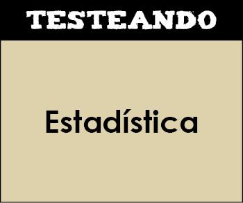 Estadística. 2º ESO - Matemáticas (Testeando)