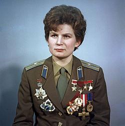 Valentina Tereshkova, la gaviota rusa