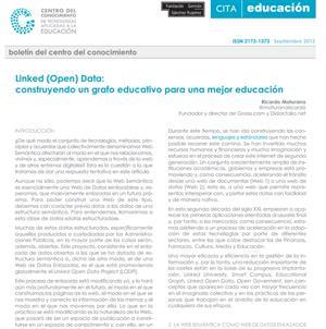 Articulo: Linked open data, construyendo un Grafo Educativo para una mejor educación