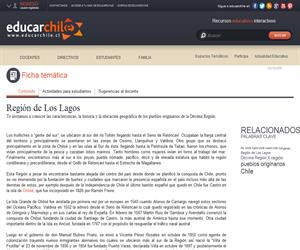 10ma Región Pueblos Originarios (Educarchile)