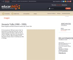 Juvencio Valle (1900 - 1999) (Educarchile)