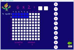 Las tablas de multiplicar para tablets