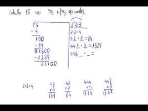 Raíz cuadrada con cifras decimales