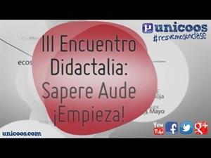 Encuentro Didactalia 2013: David Calle - Unicoos @beunicoos