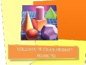 Volumen de cubos, prismas y pirámides