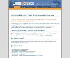 LudoScience (videojuegos y serious games)