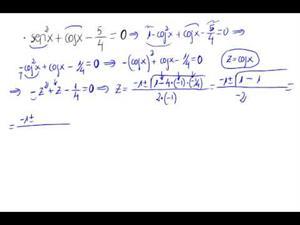 Resolución ecuación trigonométrica