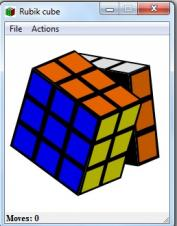 Rubik Cube, prueba a armar el cubo de rubik en la red