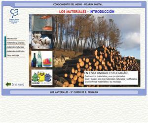 La materia. Los materiales – Conocimiento del medio – 3º Ciclo de E. Primaria – Unidad didáctica.