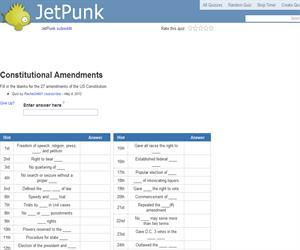 Constitutional Amendments