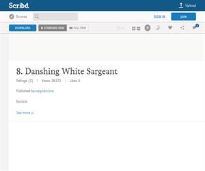 Dashing WhiteSergeant, ficha de la danza escocesa