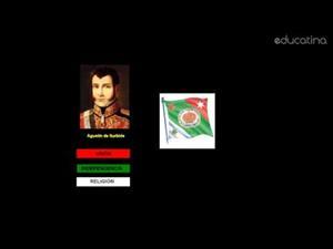 México: 24 Febrero 1821. Día de la Bandera