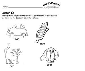 Activity sheet ? Cc sound (Educarchile)