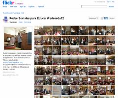 Redes Sociales para Educar: galería de imágenes de #redesedu12