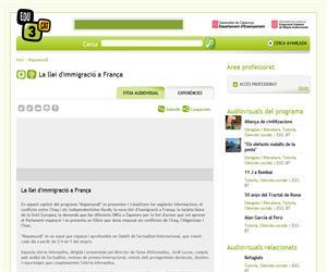 La llei d'immigració a França (Edu3.cat)