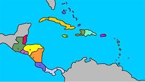 Mapa interactivo de América Central y El Caribe: países y capitales (luventicus.org)
