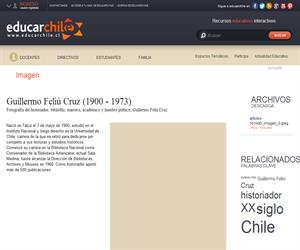 Guillermo Feliú Cruz (1900 - 1973) (Educarchile)