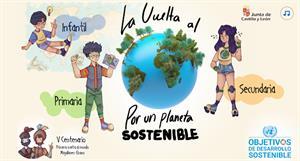Escritorio de Verano 2020: La vuelta al mundo. Junta de Castilla y León