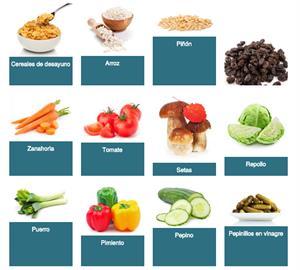 Fichas de alimentos (Junta de Andalucía)