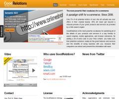 GoodRelations: Una ontología para comercio electrónico que incrementa la visibilidad y posicionamiento de los productos y servicios en la Web