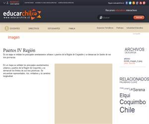 Puertos IV Región (Educarchile)