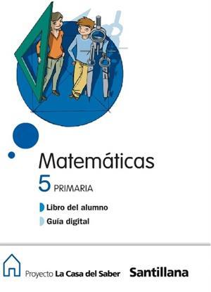 Libro digital de matemáticas para 5º primaria (Santillana)