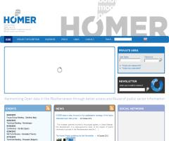 HOMER, the strategic MED project focused on Open Data and Public Sector Information (PSI)